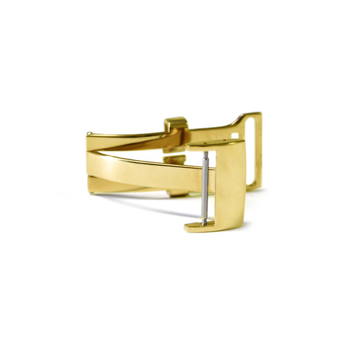 18mm Gold-Tone Deploy Clasp for Breitling | Panatime.com