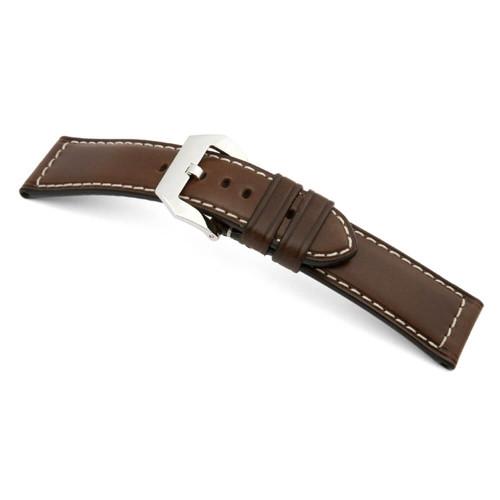 Mocha RIOS1931 Firenze, Russian Leather For Panerai | Panatime.com