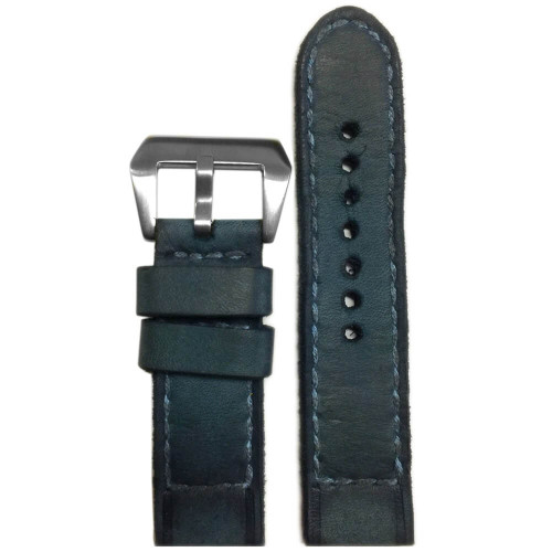 "24mm Gunny Straps ""Caitlin 6"" - Genuine Vintage Leather Watch Strap for Panerai 