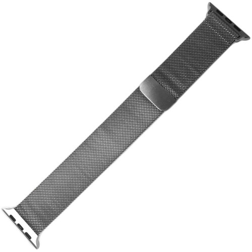 Stainless Steel Mesh Watch Strap with Magnetic Closure for Apple Watch | Panatime.com