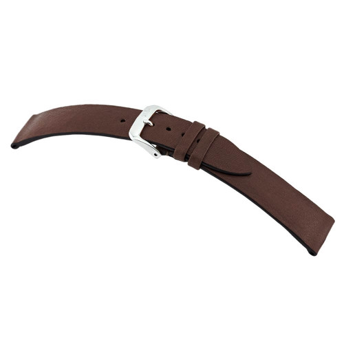 Mocha RIOS1931 Kempten, Genuine Certified Organic Leather Watch Strap | Panatime.com