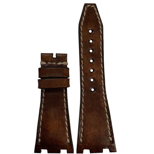 Panettone Vintage Leather for 42MM AP Royal Oak Offshore   Panatime.com