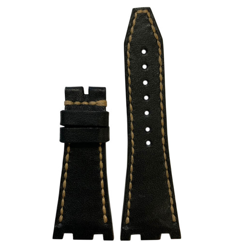 Charcoal Vintage Leather for 42MM AP Royal Oak Offshore   Panatime.com
