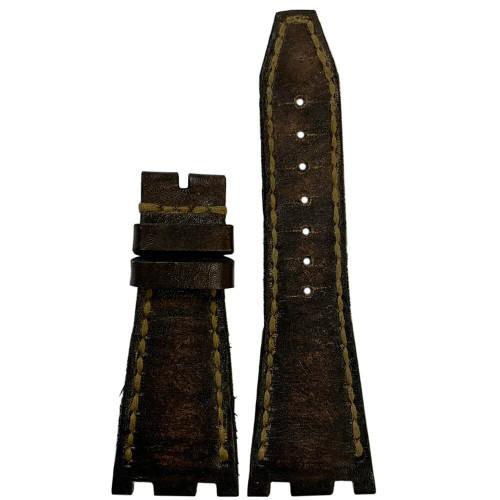 Vintage Arillo Genuine Leather for 42MM AP Royal Oak Offshore   Panatime.com