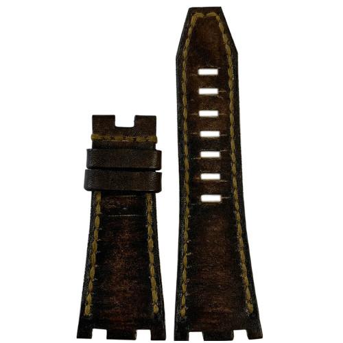Vintage Arillo Genuine Leather for 42MM AP Royal Oak Offshore | Panatime.com