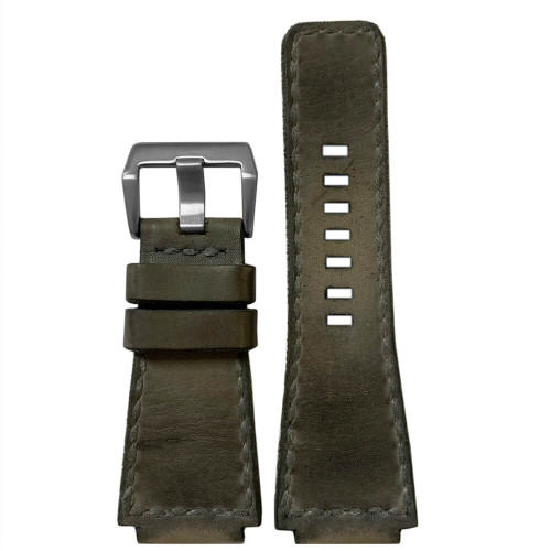 Gunny Caitlin 5 - Vintage Leather Watch Band For Bell & Ross (Handmade) | Panatime.com