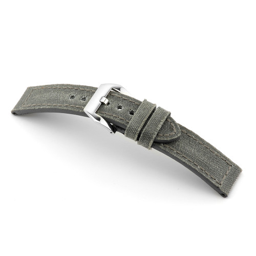Stone Grey RIOS1931 Maryland - Genuine Canvas Vintage Watch Band