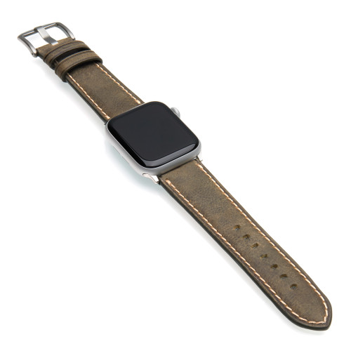 Oregon | Vintage Leather Watch Band for Apple Watch | Panatime.com