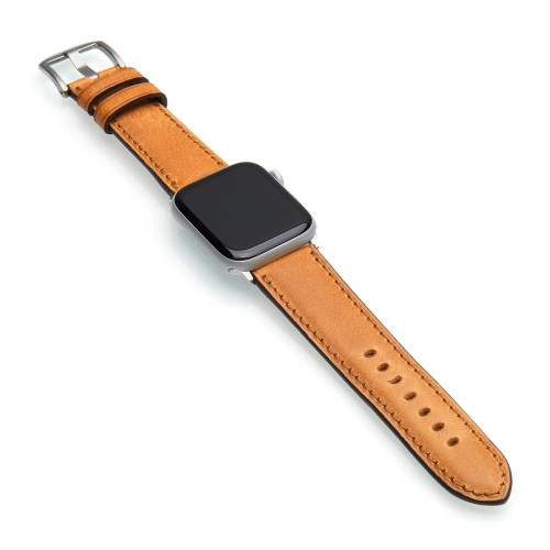 Hickory | Vintage Leather Watch Band for Apple Watch | Panatime.com