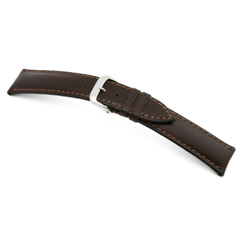 RIOS1931 Mocha Moscow, Genuine Russian Leather Watch Strap | Panatime.com