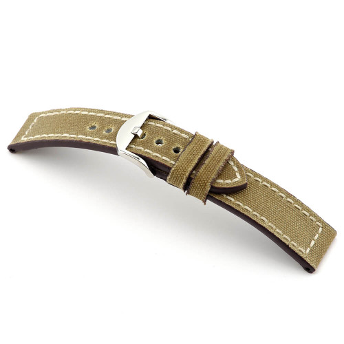 Honey RIOS1931 Ohio, Genuine Canvas Watch Band | Panatime.com