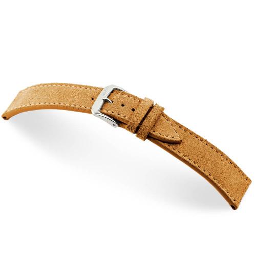Cognac RIOS1931 Franklin, Velours Watch Band | Panatime.com