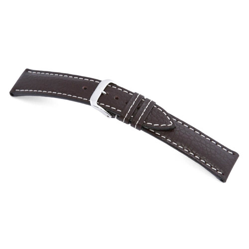 RIOS1931 Mocha Montana, Buffalo Leather Watch Strap   Panatime.com