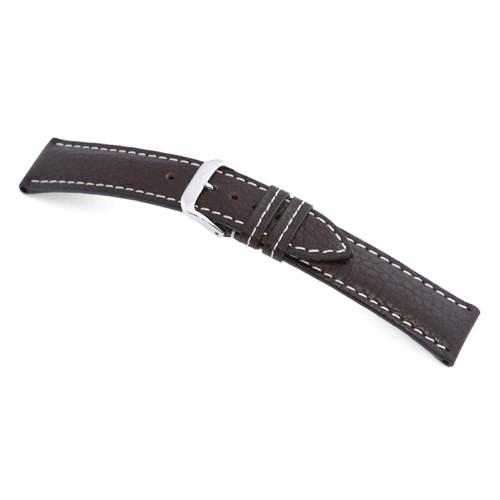 RIOS1931 Mocha Montana, Buffalo Leather Watch Strap | Panatime.com