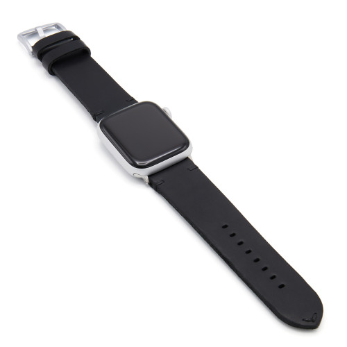 Black Sullivan | Vintage Leather Watch Band for Apple Watch