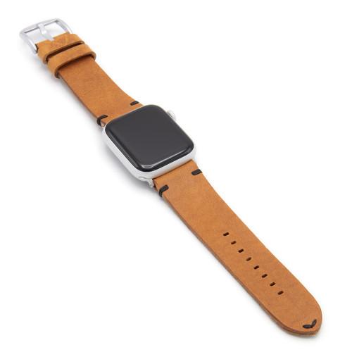Cognac Sullivan | Vintage Leather Watch Band for Apple Watch
