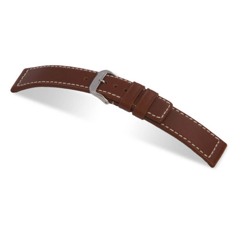 RIOS1931 Mahogany Mariner, Hydrophobic Leather (Water Resistant) Watch Strap | Panatime.com