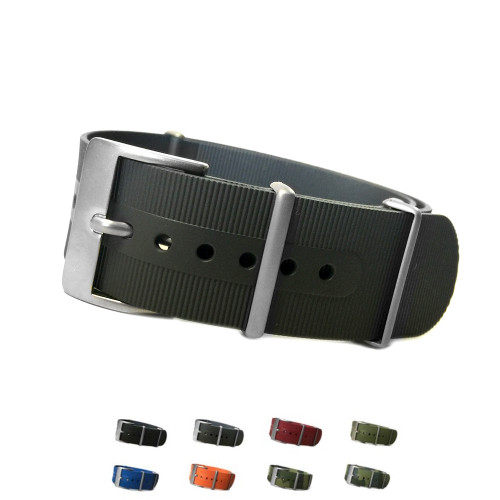 Waterproof NBR-Rubber | One Piece Watch Strap | Panatime.com