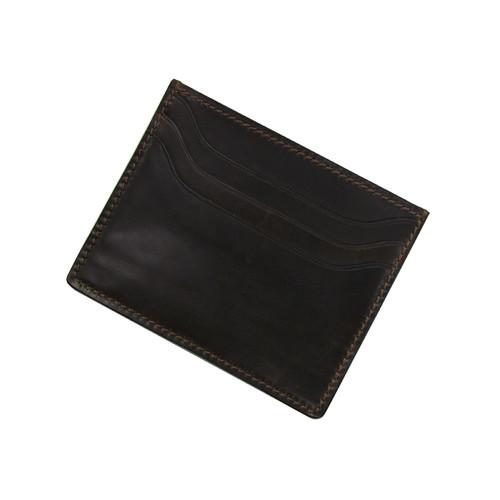 RIOS1931 Mocha Premium Shell Cordovan Wallet | Panatime.com