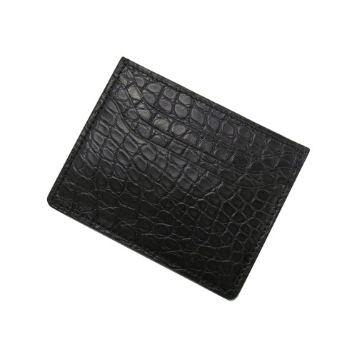 RIOS1931 Black Premium Genuine Alligator Wallet | Panatime.com