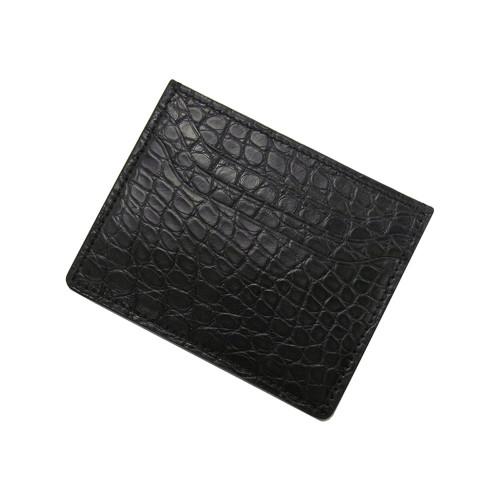 RIOS1931 Black Premium Genuine Alligator Wallet | Panatime.com