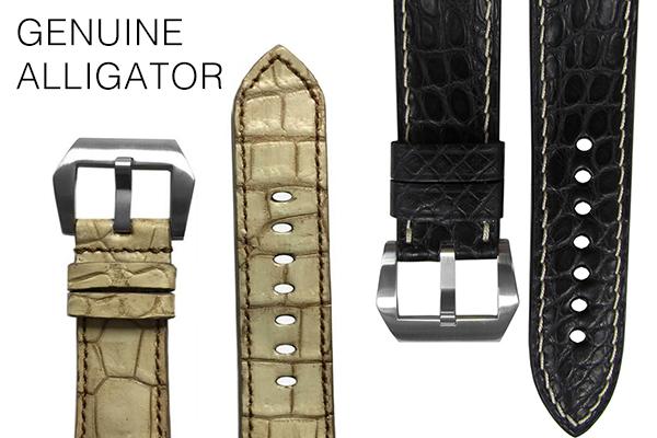 Genuine Alligator Watch Straps