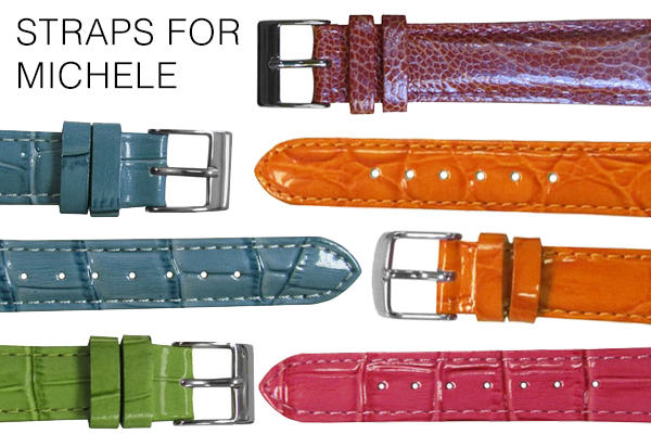 Straps for Michele Watches