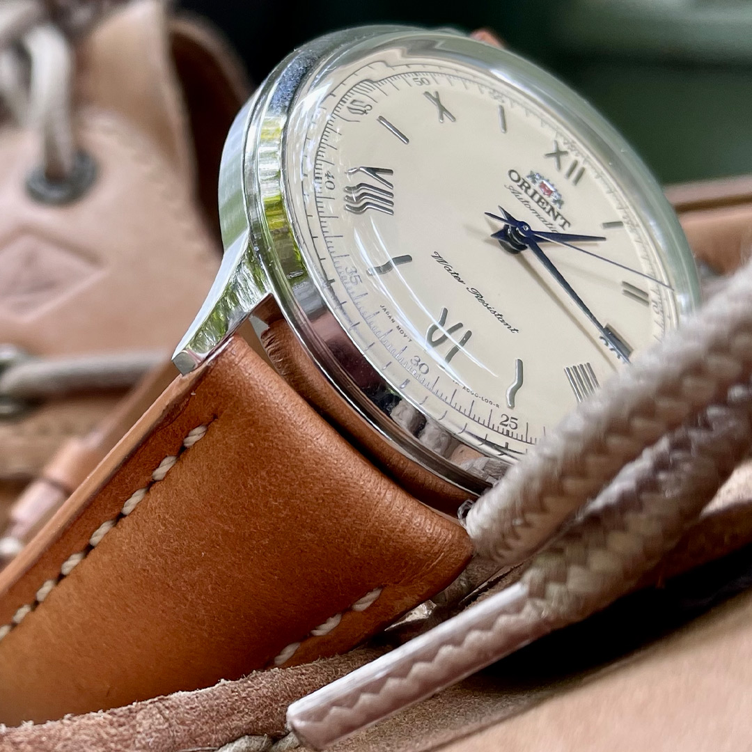 RIOS1931 Sand Vintage Leather (Breitling Style)