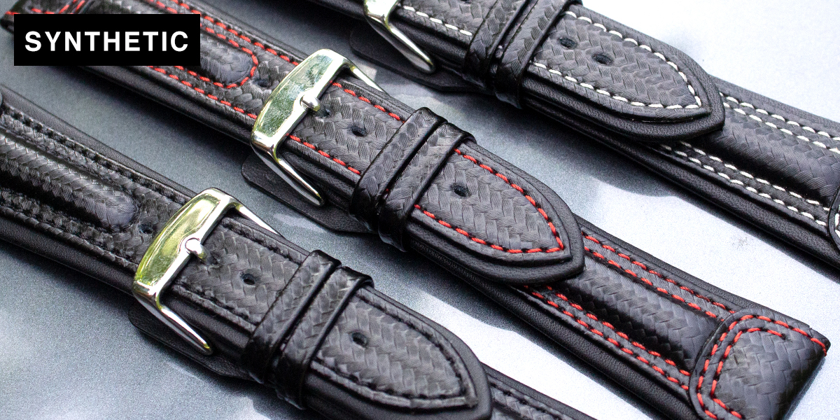 Synthetic Watch Straps