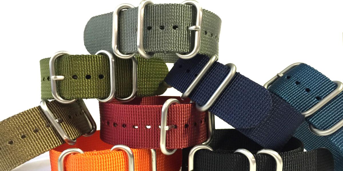 Nylon Watch Bands