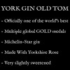 Description of York Gin Old Tom - officially one of the world's best gins. Made with Yorkshire Rose in a collab with Michelin-starred Star Inn, Harome.