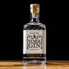 York Gin London Dry 70cl bottle on dark background - classic dry gold award-winning gin made in York.