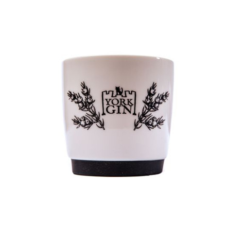 York Gin branded china mug