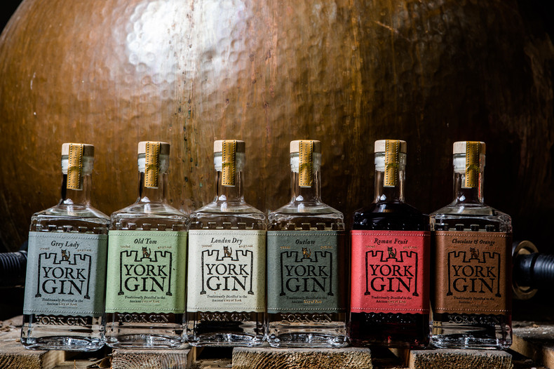 York Gin launches sustainable new bottles