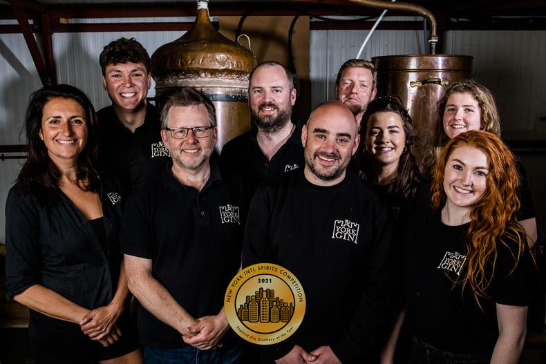 York Gin wins Best English Gin Distillery title and gold medal in New York