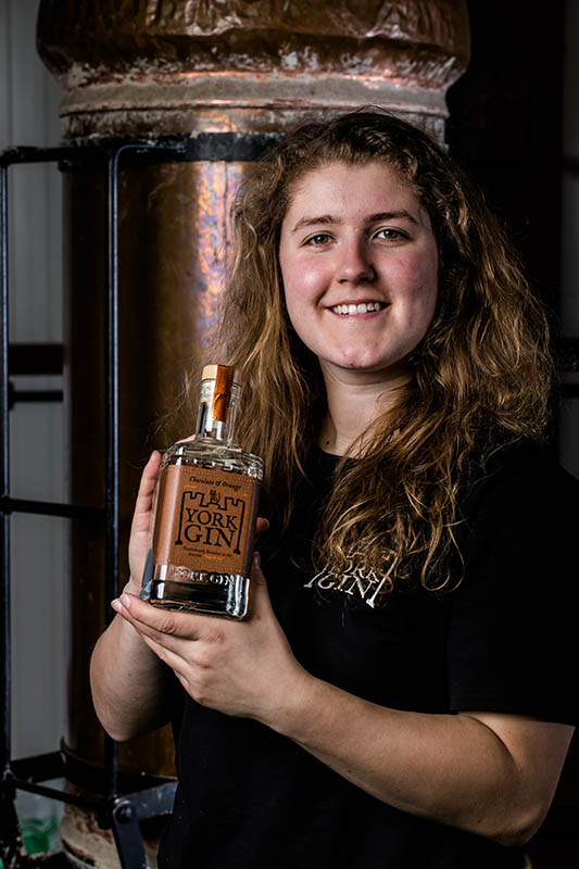 Becky Antrobus - Distillery York Gin