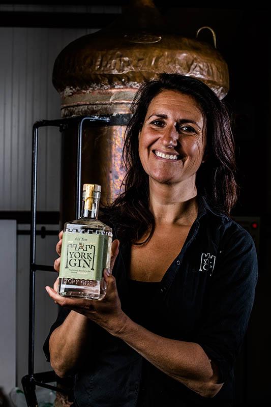 Emma Godivala co-director of York Gin
