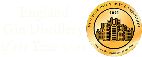 England Gin Distillery of the Year 2021, New York International Spirits Competition