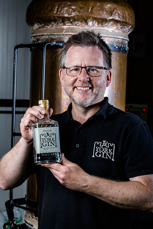 Paul Crossman York Gin Director