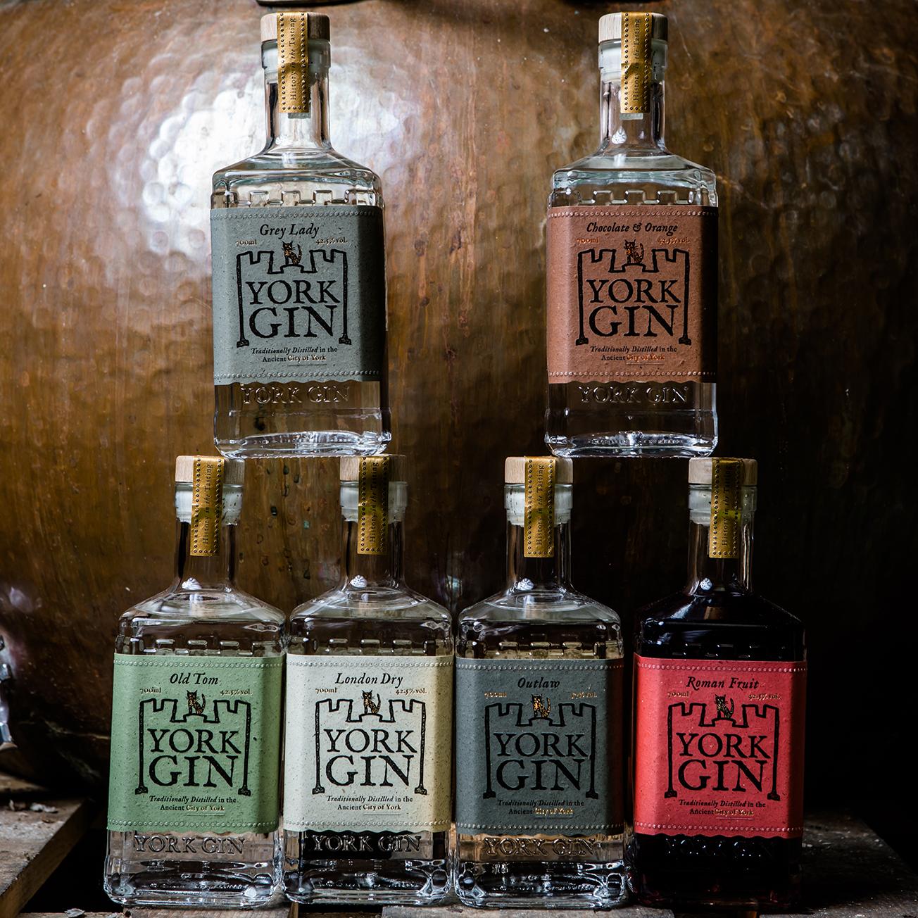 York Gin Bottles