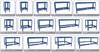 "Kreg Universal Bench Rail Set 44"" (KBS1020)"