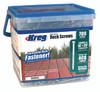 """Kreg Stainless Steel Deck Screws 2"""", #8 Coarse, Pan Head, 700 Count (SDK-C2SS-700)"""