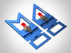 TSO Guide Rail Square Combination Set - side-by-side 2