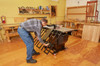 Folding Outfeed Table