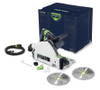 Festool Emerald Edition TS 55 REQ-F-Plus Plunge Cut Saw w/o Guide Rail (576689)