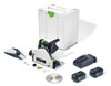 Cordless Track Saw TSC 55 KEBI-F-Plus with accessories