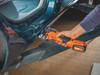 Fein CORDLESS MULTIMASTER AMM 300 PLUS START cutting a car door frame