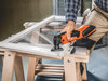 Fein Cordless MultiMaster AMM 500 Plus Top sanding a window frame