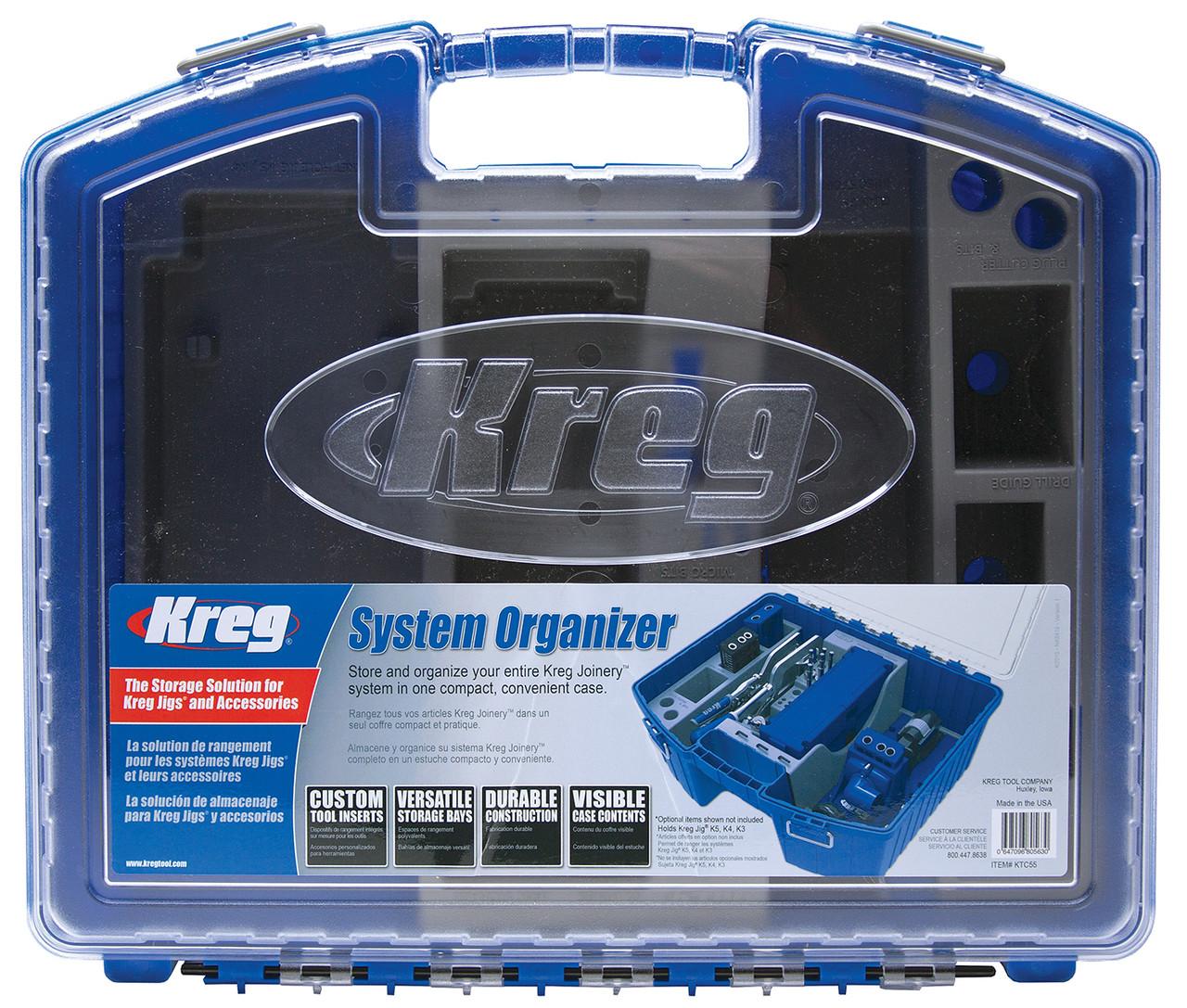 Kreg System Organizer KTC55