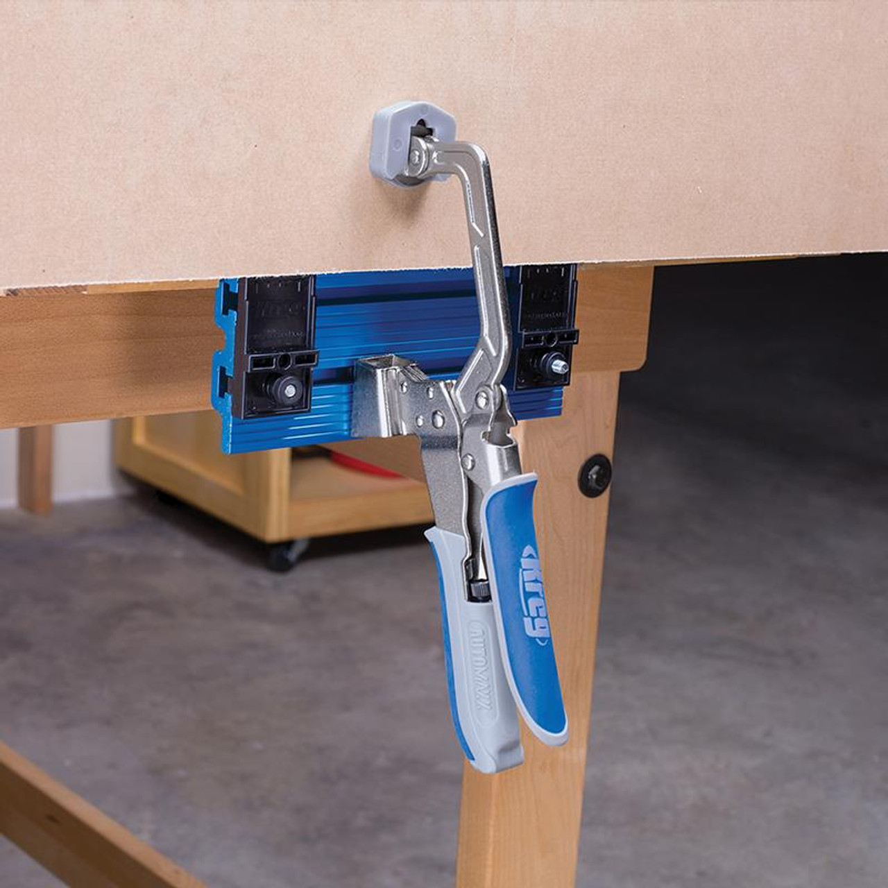 "Kreg KBC3-VISE 3/"" Large Padded Bench Clamp System w// Automaxx"